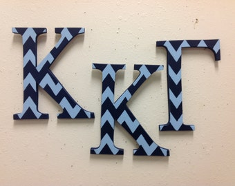 Kappa Kappa Gamma large Greek letters sorority