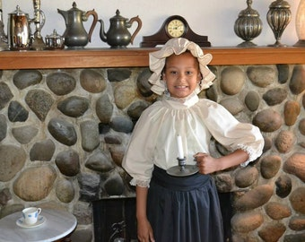 For Colonial Williamsburg  Girls Colonial Dress Costume Civil War Pioneer Prairie