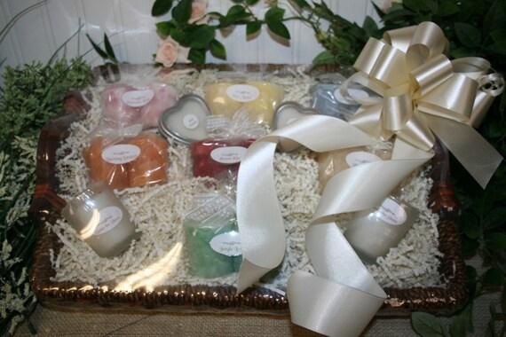 Bridal Candle Basket with Candle Poem for Bridal Shower - Wedding Gift ...