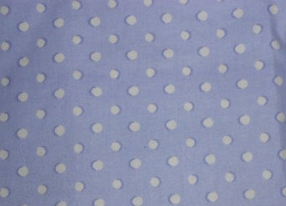 waverly fabric dotzs periwinkle blue and white polkadots 1. Black Bedroom Furniture Sets. Home Design Ideas