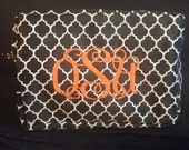 Personalized makeup bag monogrammed bag
