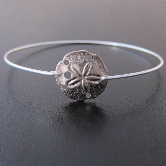 sand dollar bracelet sand dollar jewelry beach jewelry
