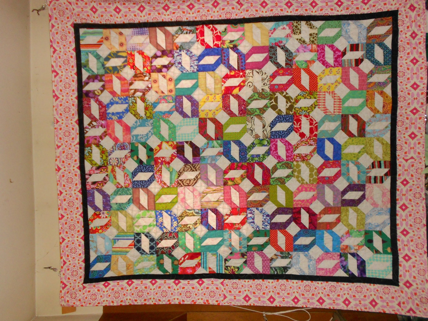Free Quilt Patterns Queen Size Bed : Queen Size Bed Quilt / Double size quilt Free Spirit 23