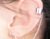 Solid Band Plain Cuff Earring