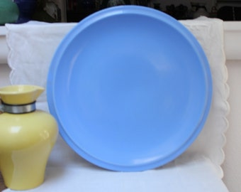 "California Pottery Vernon Kilns Large Chop Plate 13 3/4"" VINTAGE by Plantdreaming"