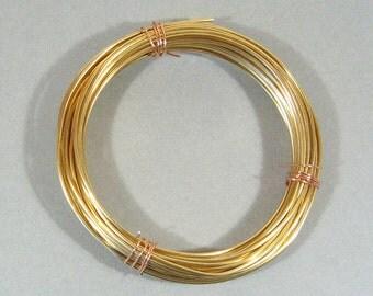 16ga Dead Soft Red Brass Wire