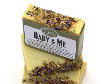 Baby Soap,  Handmade Baby Soap, Sensitive Skin, Extra Virgin Olive Oil, Castile Soap, For mother and baby, shop local, FREE SHIPPING
