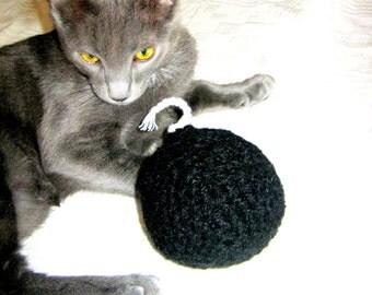 CatNip Toy - Wool Crochet Bomb Cat Toy - Cat Nip