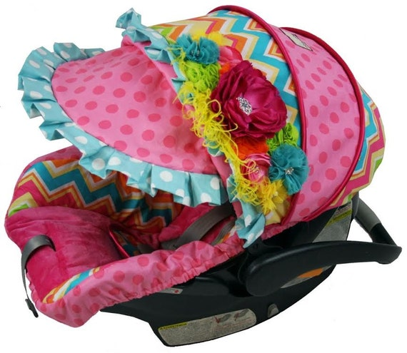 fancy baby custom baby car seat cover britax by ritzybabyoriginal. Black Bedroom Furniture Sets. Home Design Ideas