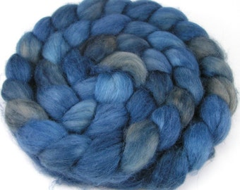 Spinning Fiber - Baby Alpaca Combed Top - Faded Denim - 4 oz