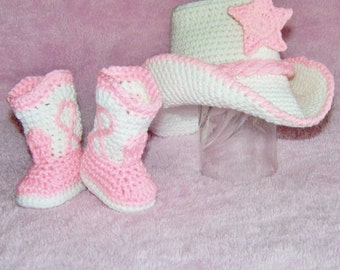 Baby Cowboy Boots - Baby Cowgirl Outfit - Cowgirl Boots - Cowgirl Outfit - Cowgirl Hat - Newborn Photo Prop - Baby Cowboy Hat - Cowgirl Hat