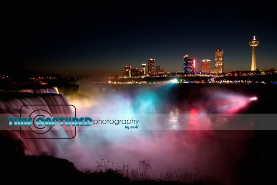 Niagara Falls in the Night