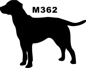 LAB Vinyl Dog Decal Silhouette Military dogs Vinyl Dog Decal Silhouette in your colors