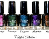Entire SEVEN SISTERS Nail Polish Collection
