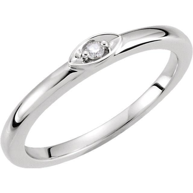 14kt White Gold Custom Diamond Band Wedding Ring 03ct By Jodigem