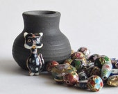 Cloisonne Bead Mix - Assorted Shapes and Sizes