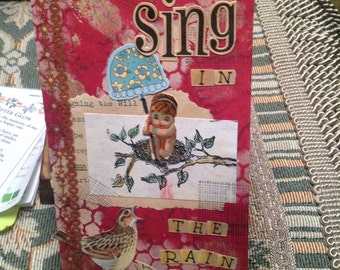 ORIGINAL Handmade Greeting Card