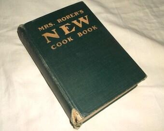 antique Mrs. Rorer's New Cook Book • Recipes & Photos