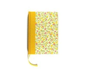Notebook Flower Rain Yellow Pink