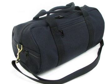 Duffle Bag, Duffel Bag Canvas, Canvas Cross-Body Duffle Bag, Vegan Duffle Bag, Duffle Purse, Small Travel Bag, Shoulder Bag Duffle