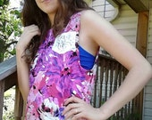 Floral lace pocket tank top tunic Rebekahs Boutique. Small(request another size)