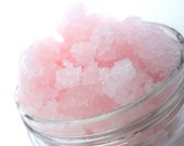 Pink Sugar Whipped Body Scrub -Great for Dry Cracked Heels too- CHOOSE 5 or 10 oz. - SherisSoapOpera