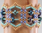 Beading Tutorial for Abacus Bracelet, jewelry pattern, beadweaving tutorials, instant download, PDF