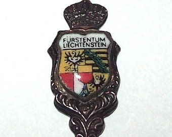 Liechtenstein Silverplate Souvenir Spoon