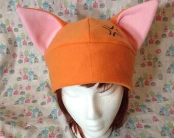 Kyo Sohma from Fruits Basket Inspired Fleece Cat Hat Handmade