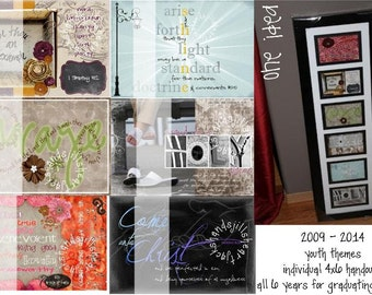 all 6 years individual 4x6 sizes 2009-2014 zip file digital download