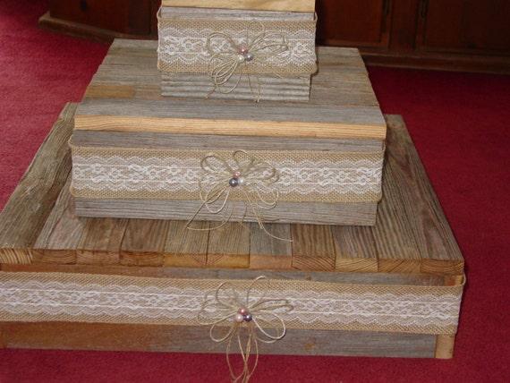 Etsy Wedding Cake Decorations : Items similar to wedding cake stand reception decorations ...