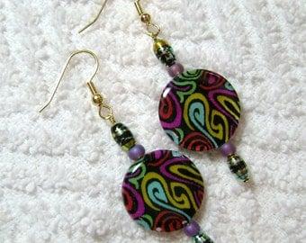 Swirled Shell Earrings - Earrings - Jewelry - E66