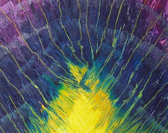Light As Radiance - Original Mixed Media Abstract Painting