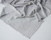 gray sweater knit fabric newborn baby wrap layer photo prop READY TO SHIP