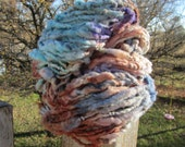 Muted Jewels  HandSpun and Hand Dyed Yarn