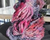 Punk Princess  HandSpun and Hand Dyed Yarn