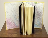 Custom Map Book with Personalized Colophon : RESERVED FOR KATIE