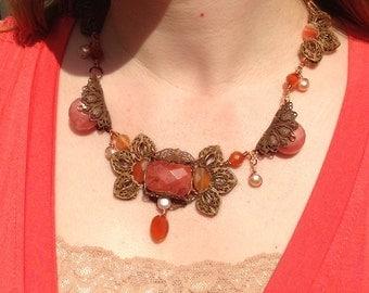 SALE Forever Filigree Necklace