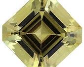 Wonderful Yellow Beryl Stone or SALE  Fabulous for Jewelry. Asscher Cut, 5.56 carats