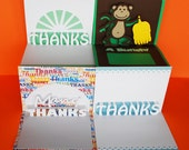 Thank You Pop-Up Card Digital Cutting File Set - SVG, PDF