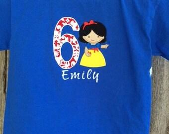 Snow White Birthday Shirt