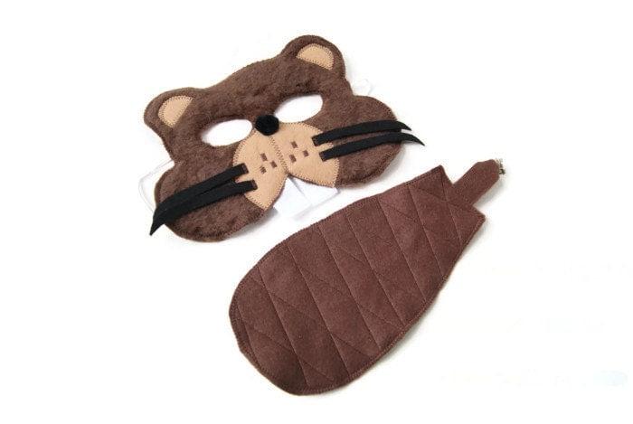 07e8770127e How to make a beaver tail costume