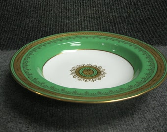 "Burley & Co Bowl - 10"" - Green white gold"