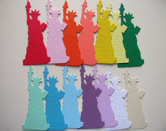 25 Seed Paper Statue of Liberty