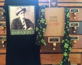 James Joyce/Shamrock Bow Tie