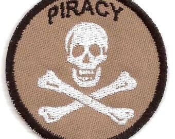 Piracy Geek Merit Badge Patch