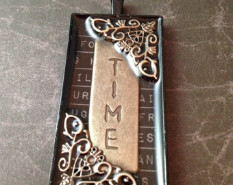 Time and Filigree Steampunk Necklace