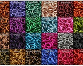 18 Gauge Enameled Copper Jump Rings - 1 Ounce - Pick your color and size!