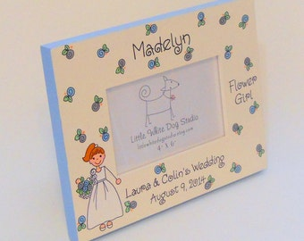 Personalized Flower Girl Gift Picture Frame