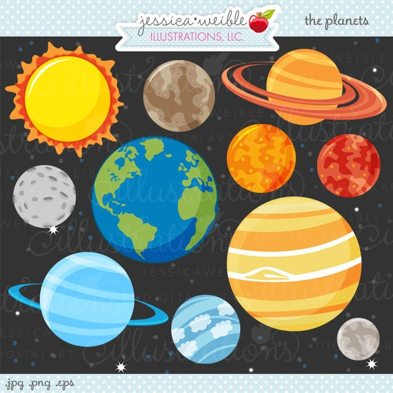 the 9 planets clip art - photo #22